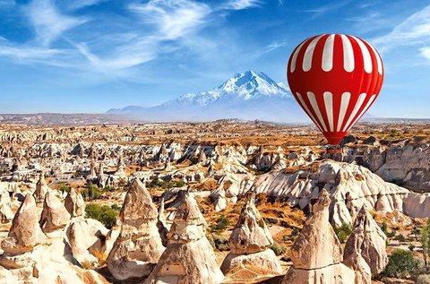 8 napos feltöltődés repülővel Törökországban