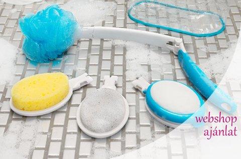 6 részes spa fürdőszett kozmetikai táskával