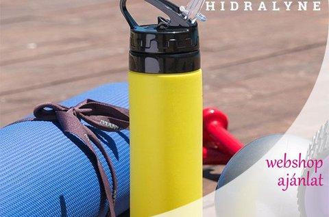Hidralyne szilikon kulacs 4 választható színben