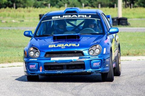 Vezess egy Subaru Impreza WRX-et 3 körön át!