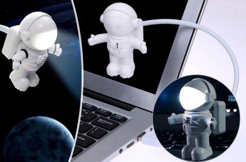 Űrhajós LED lámpa USB csatlakozóval
