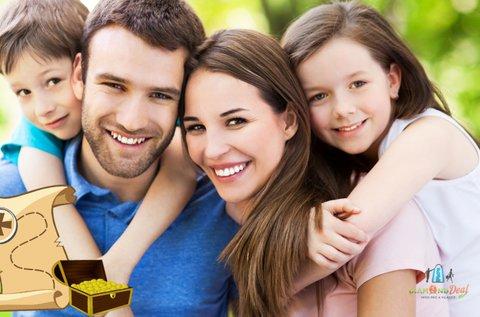 Szabadtéri kalandos kincskeresés a családdal