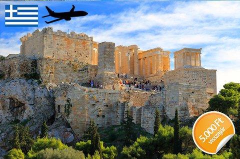 Napfényes tavaszi üdülés Athénban repülővel