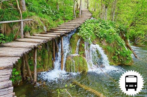 Buszos utazás a Plitvicei-tavakhoz