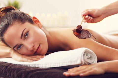 90 perces csokis masszázs és wellness kezelés