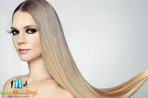 100 tincs haj felrakása steampod kezeléssel