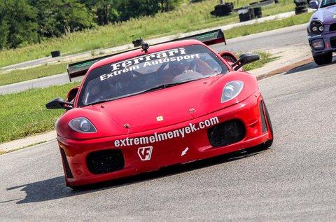 Ferrari F430 GT3 élményvezetés