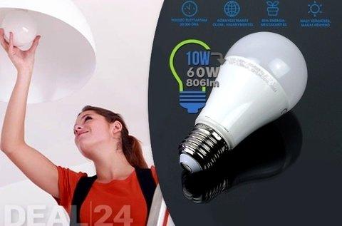 5 W-os meleg fehér LED izzó GU10-es foglalattal