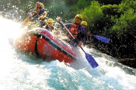 Rafting vagy kanyoning Szlovéniában 2 főnek