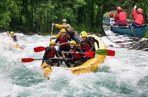 Rafting, kerékpár és kanyon túrák Szlovéniában