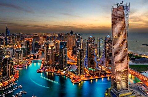 Mesés utazás 1 főnek a legek városába, Dubai-ba