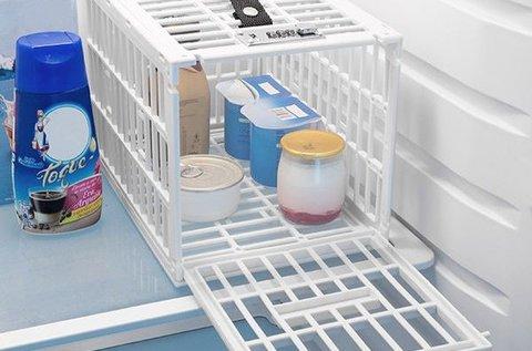 Lakattal zárható hűtőrekesz