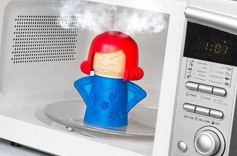 Füstölgő mama praktikus mikrohullámú sütőtisztító