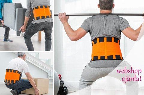 Derék- és hátvédő sportöv 3 válaszható méretben