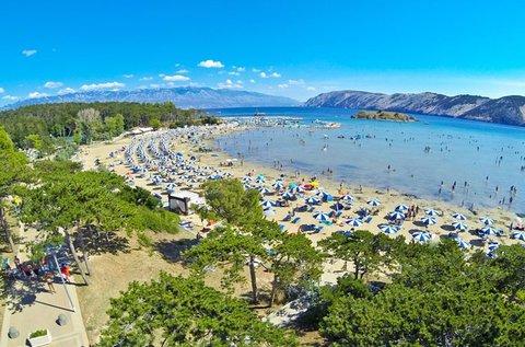 8 napos vakáció a horvát tengerparton, Lopar-ban