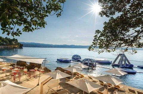 Családi luxus nyaralás a horvát tengerparton