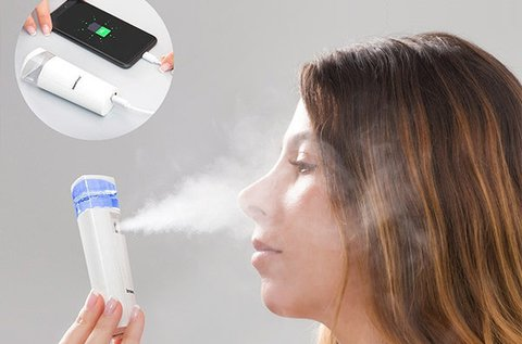 Házi aromaterápia arcpermetező töltővel