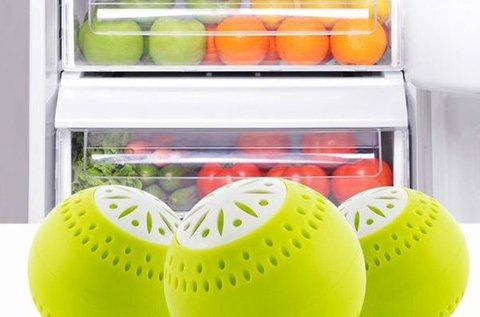 3 db BPA mentes hűtőszekrény frissítő golyó