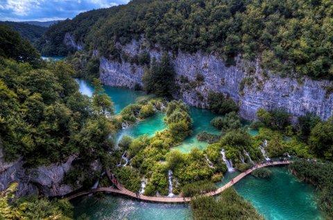 Mesés kalandozás Plitvicei-tavaknál