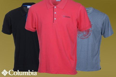 Columbia férfi galléros és kereknyakú póló