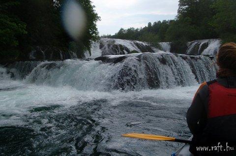 Horvátországi rafting vadvízi evezéssel