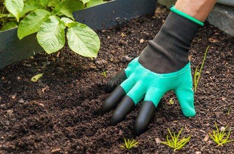 1 pár vízhatlan kesztyű kertészkedéshez
