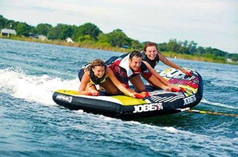 Extrém vízi sportok a gyáli Fundy-tavon