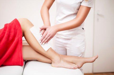 Teljes láb, bikinivonal és hónalj gyantázás