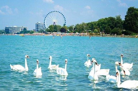 3 napos üdülés a Balaton partján, Siófokon