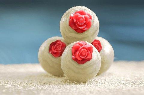 Rózsás bonbon és trüffel készítő kurzus 2 fő részére