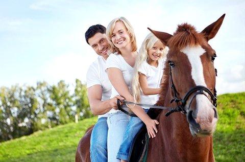 5+1 alkalmas bérlet családi lovasprogramra Mendén