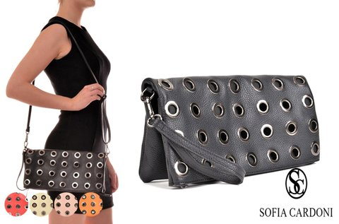 Sofia Cardoni Maniac félbe hajtható alkalmi táska