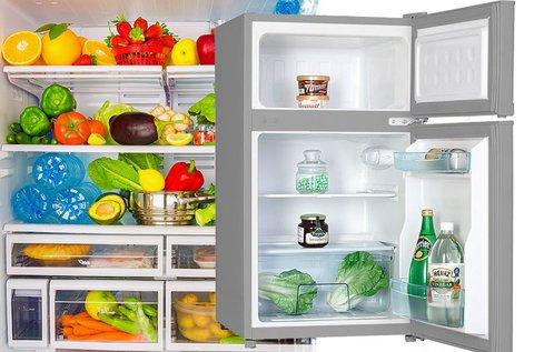 Hűtőszekrény fagyasztóval változatos méretekben