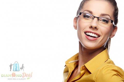 Komplett szemüveg normál egyfókuszú lencsével