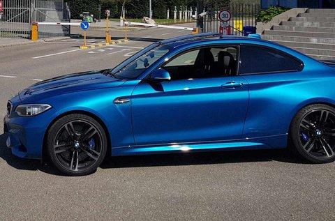8 körös BMW M2 élményvezetés