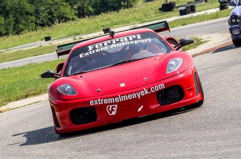 Vezess egy Ferrari F430 GT3 autót Örkényben!
