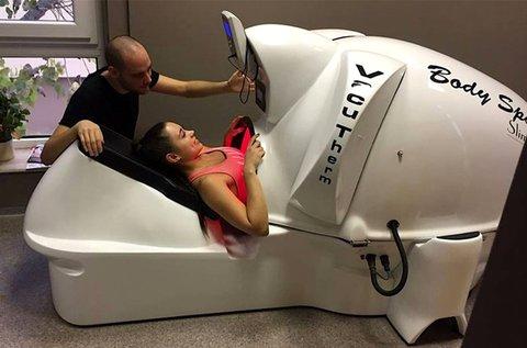 Body-Space vákuumos fekvő infrabicikli használat