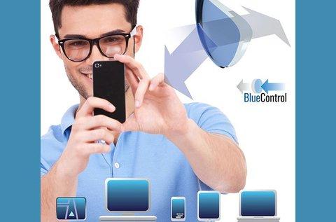 BlueControl lencsés komplett szemüveg