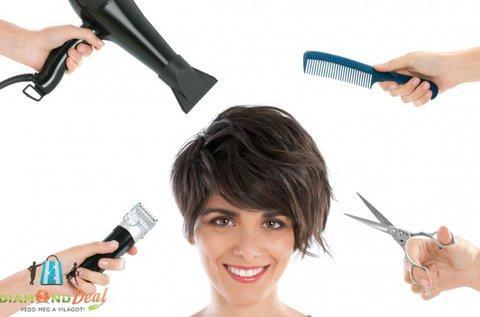 4 alkalmas hajszárítás bérlet egyszeri fazon vágással