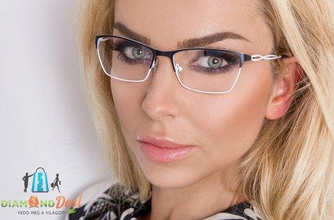 Vékonyított komplett szemüveg látásvizsgálattal