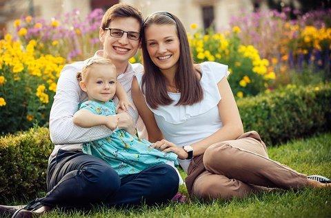 Szabadtéri baba-, családi vagy páros fotózás