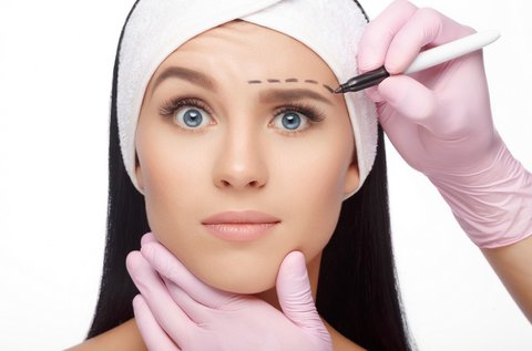 HIFU kezelés kibővített szemkörnyék területén