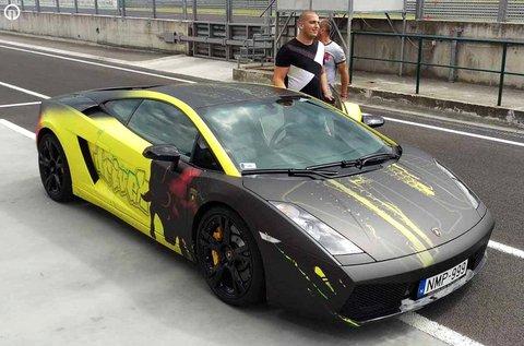 Lamborghini Gallardo LP 550-2 vezetés Mogyoródon