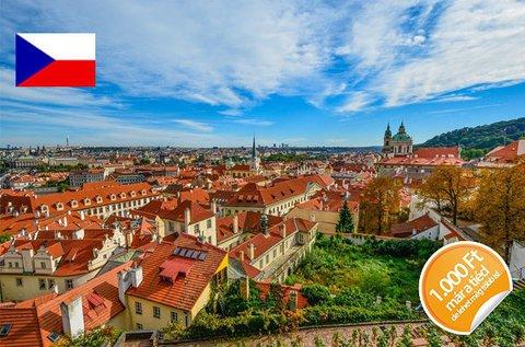 Páros romantika Prága városában