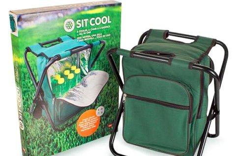 Sit Cool 3 az 1-ben hűtő, hátizsák és kempingszék