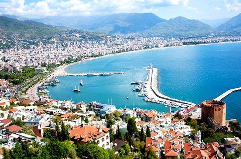 8 napos nyaralás a török tengerparton, Side-ben