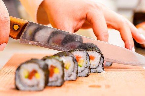 2 órás sushi oktatás és vacsora