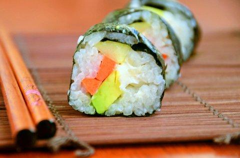 2 órás sushi készítő kurzus 1 fő részére
