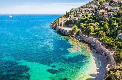 8 fenséges nap a török tengerparton repülővel