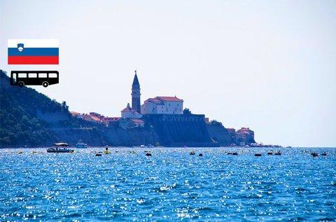 Buszos kirándulás Piran tengerpartjára